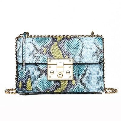 XMESSUN Women Snake Bag...