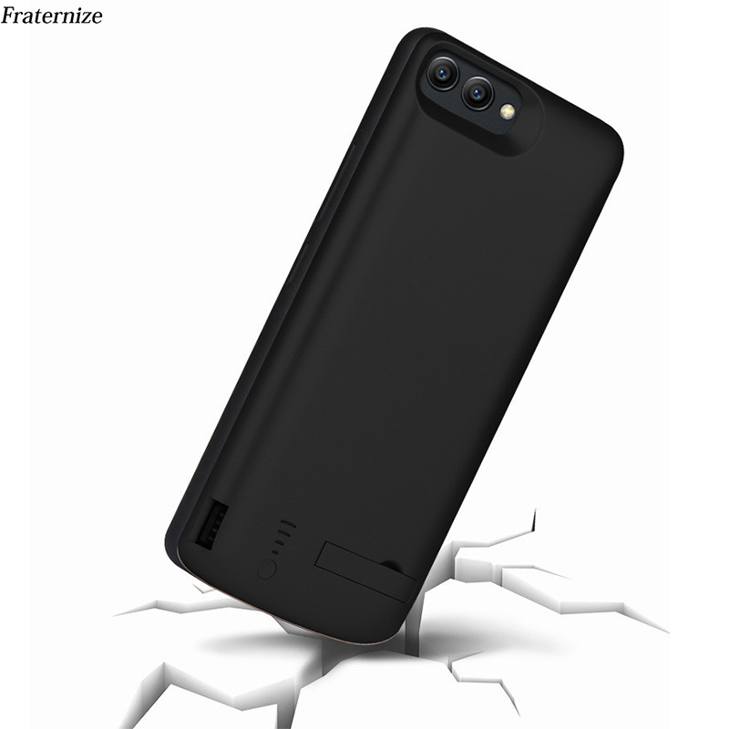 Battery Charger Case For Huawei Honor 9 V10 V9 External Charging Case Backup Power Bank Battery Charger Stand Hold Back Cover
