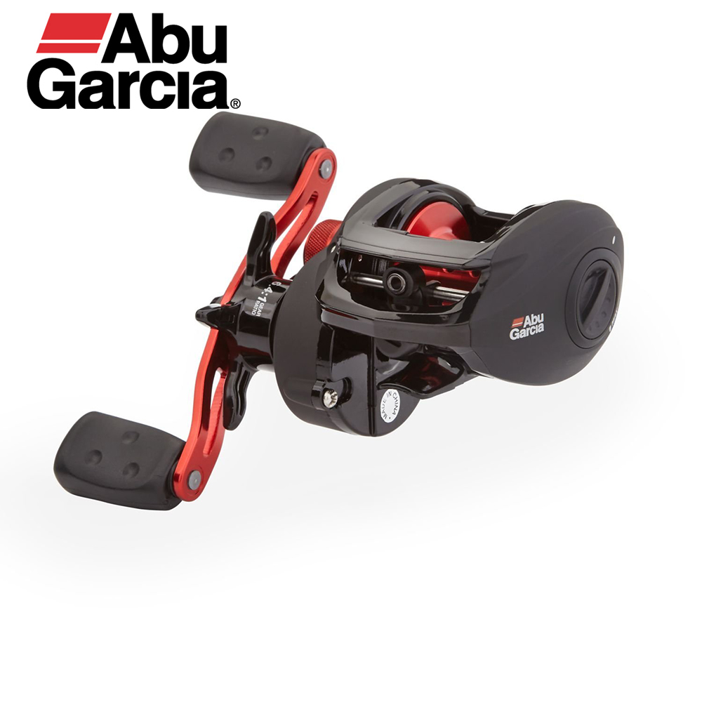 Abu Garcia Black Max Right Left Hand Bait Casting High Speed Baitcaster 5 Bearings 6.4:1 Gear Ratio Baitcasting Reel цена