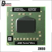 AMD Turion X2 Ultra ZM-80 ZM 80 ZM80 2,1 ГГц двухъядерный процессор с двумя резьбой 32 Вт TMZM80DAM23GG разъем S1