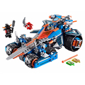 Model 10488 14012 Nexus Knights Clay's Rumble Blade Jestro Clay Building Block Scurrier Boy Gifts Compatible with 70315