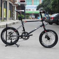 JAVA LIMIITED CL 20 Minivelo Bike 18 Speed Disc Brake Uniex High Quality Urban 406 Mini