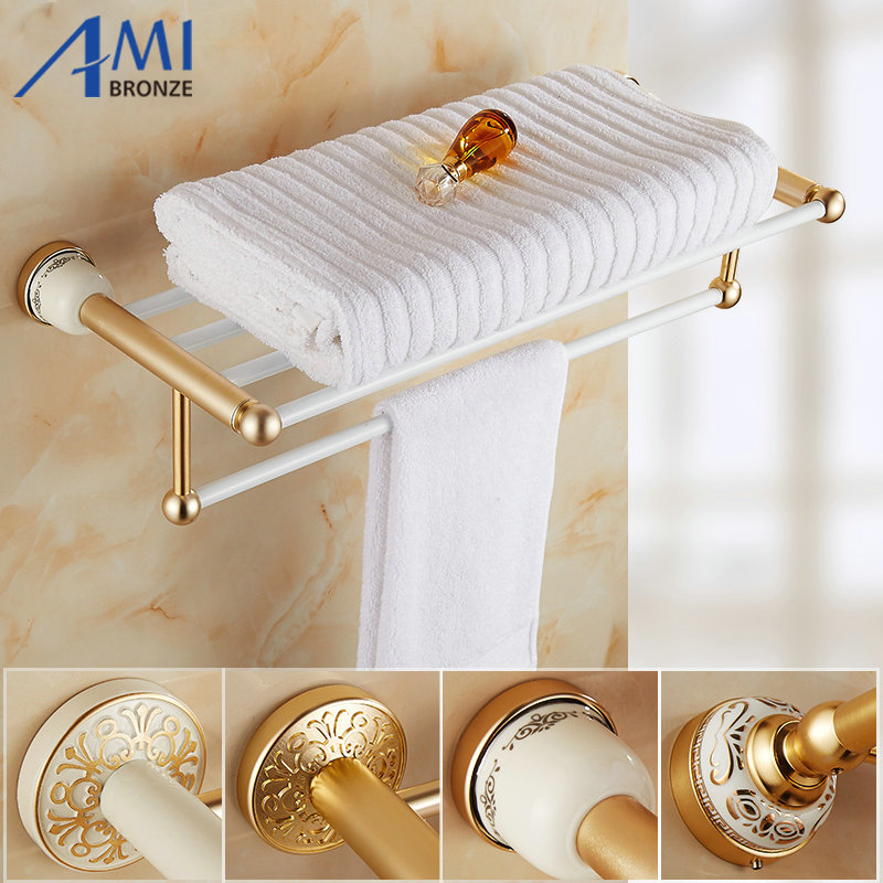 AG Series Golden Polished Space Aluminum Towel Rack Bathroom Accessories  Towel Holder Towel Shelf With Towel. Compare Prices on Metal Shelves Ikea  Online Shopping Buy Low