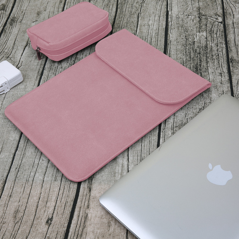 Mouse pad Laptop Bag For Macbook Air Pro Retina 11 12 13 14 15 Case For Xiaomi 13.3 15.6 Sleeve Pouch Ultra-thin Notebook Cover laptop sleeve case pouch bag cover for 11 13 15 inch macbook pro air notebook