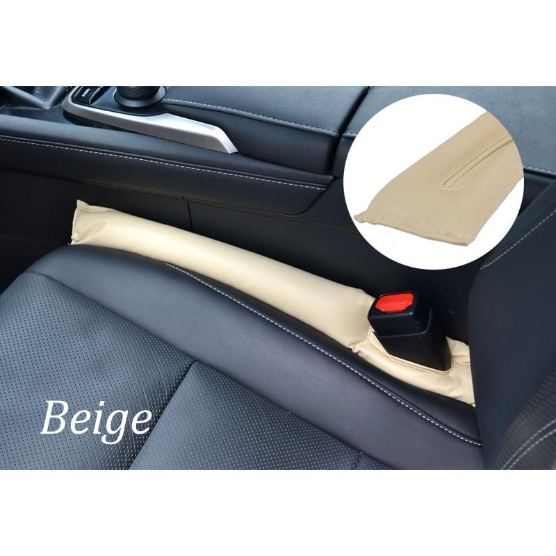 Для Toyota RAV4 2013 1 шт. автомобильное кресло зазор стопор герметичный стоп-коврик прокладка наполнителя коврик для подушки - Название цвета: Beige