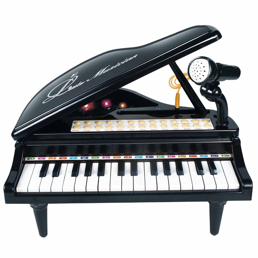 31 Keys Piano Keyboard Toy Electronic Musical Multifunctional Instruments with Microphone for Kids Toy Musical Instrument(1504B)