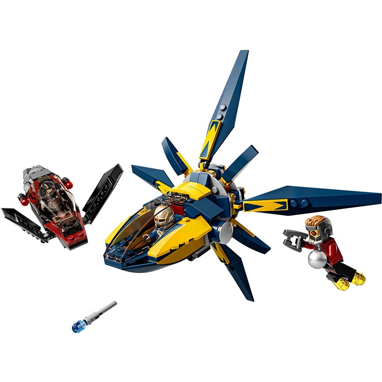 CHINA BRAND self locking bricks toy Superheroes Starblaster Showdown Compatible with Lego 76019