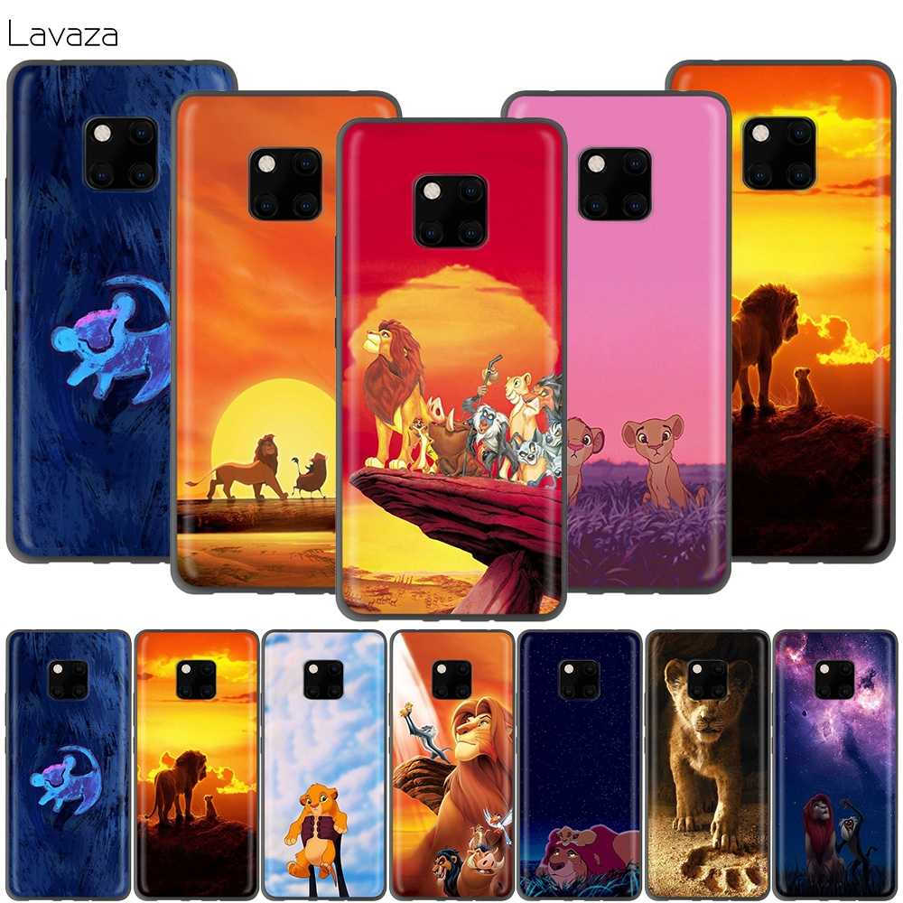 Lavaza Cartoon Lion King Case for Huawei P30 P20 P10 P9 P8 Mate 20 10 Pro Lite P Smart 2017