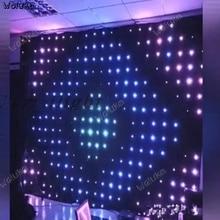 Видео Фон стены P18 занавес YY якорь декоративное фоновое полотно для якорь DJ играет диск крик Мак Прохладный CD50 W03