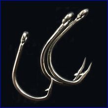 CN06 10/0 50pcs Stainless steel Assist hook Sea Big Fishing Hook Assist Jigging Hook