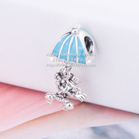 2018 Autumn Fashion Jewelry S925 Sterling Silver Cricket Jie Mini Pendant Charm Beads Fits European Bracelets Necklaces Jewelry