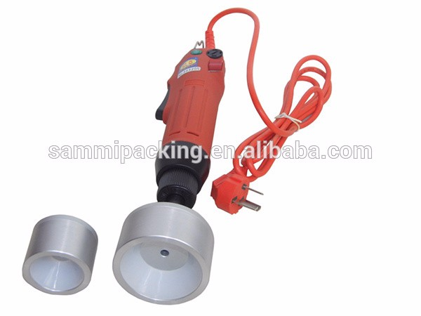 Free Shipping,100% New Hand Held Bottle capping machine,easy operation screw capper,cap sealing machine 10-50mm