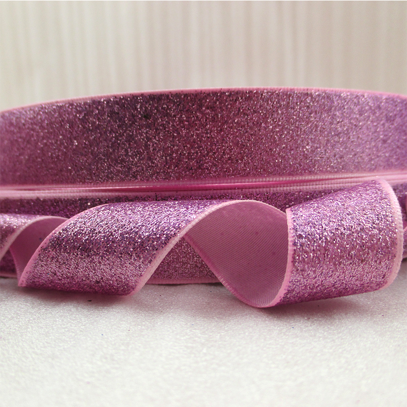 "7//8/"" USA Designer Gold Horse Argyle on Pink Grosgrain ribbon sold by the yard"