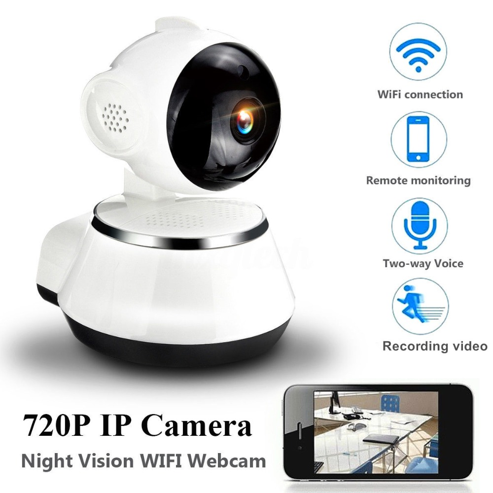video surveillance camera wifi ip camera hd 720p security cameras wireless network. Black Bedroom Furniture Sets. Home Design Ideas