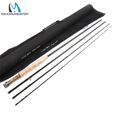 Maximumcatch Nymph Fly Fishing Rod Nano Japanese Carbon Nymph Fly Rod 10FT 3WT/4WT 4SEC Fast Actio Nymph Fly  Rod