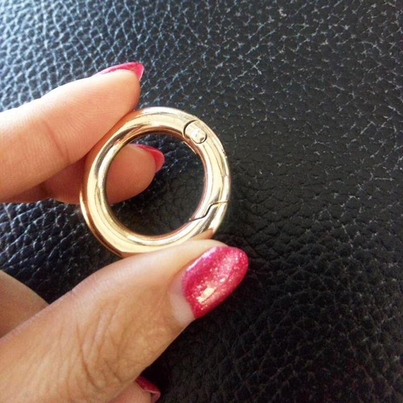 6pcs Thumb Finger Charms Keyring Key Chain Clasp DIY Mini