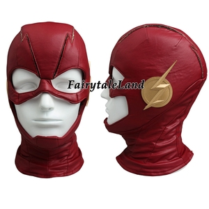 Image 3 - The Flash Season 4 Barry Allen Flash Cosplay Costume Carnival Halloween Costumes for adult Men Flash costume red uniform
