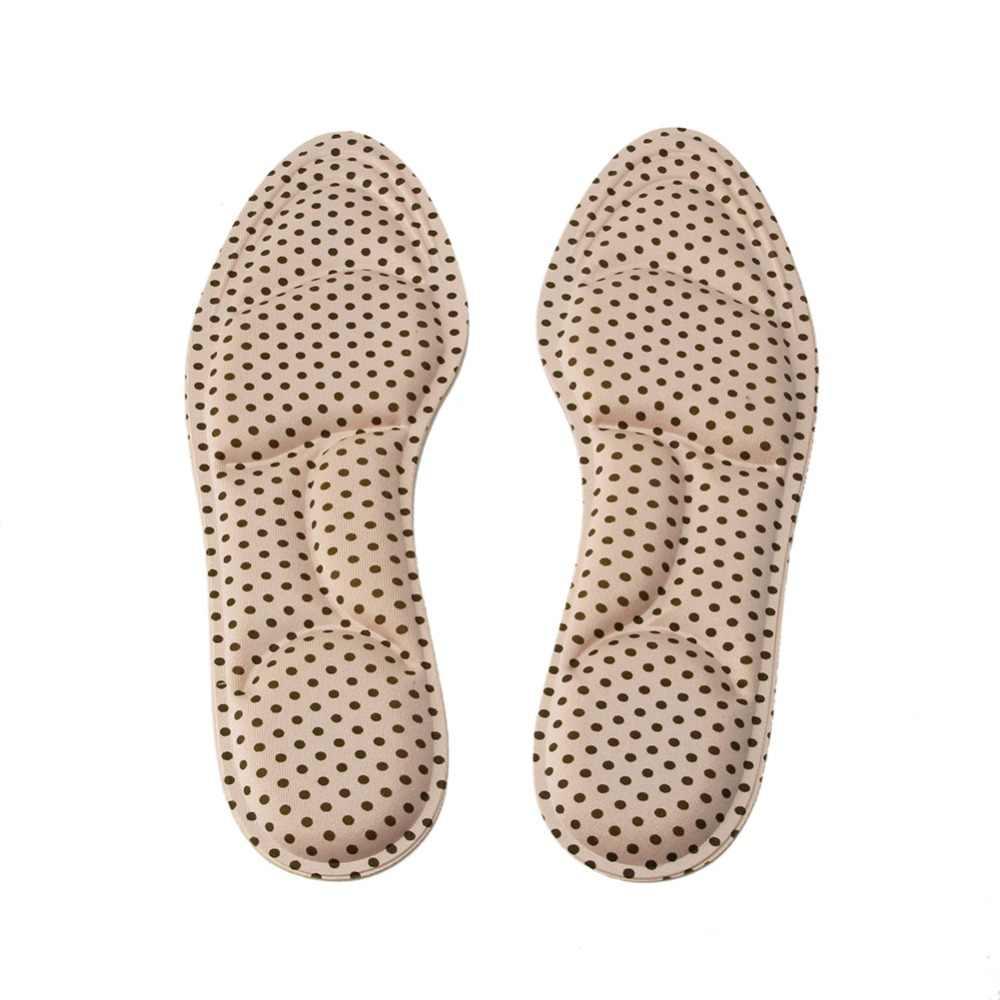 สุภาพสตรีนวดเท้ารองเท้าส้นสูงฟองน้ำ 3D รองเท้า Insoles แผ่นตัด DIY