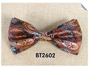 Мода кешью цветы Классический Боути для человека галстуки Регулируемая свадьба лук Галстуки полиэстер человека Bowties - Цвет: BT2602
