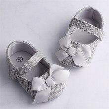 Лидер продаж, для маленьких девочек, с рисунком «гусиные лапки» Детская обувь, новорожденные платье-пачка с бантом мягкая подошва крюк и петля Prewalker