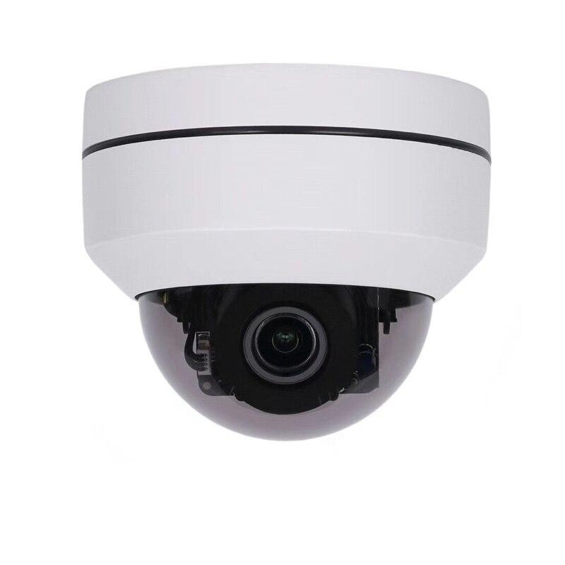 New arrival AHD CVI TVI analogue 4 in 1 mini 1080p ptz dome camera metal ahd zoom Camera 4x ahd ptz camera