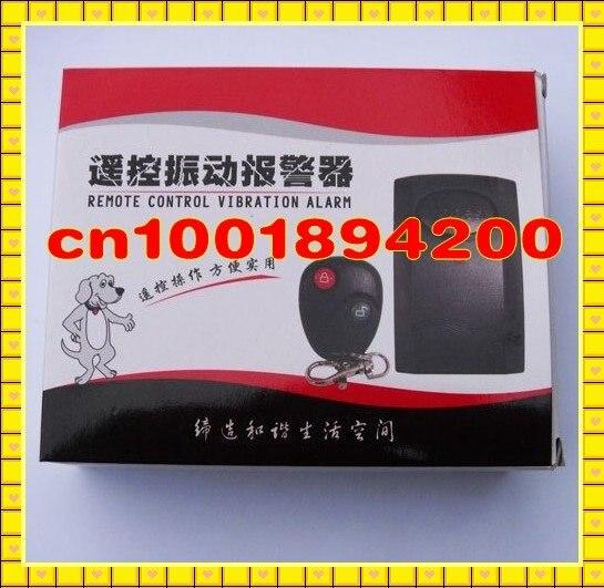 RF Remote Control Burglar Vibration Alarm System Door/Window /Motorcycle Alarm Shock Sensor Wireless Security Alarm System wireless vibration break breakage glass sensor detector 433mhz for alarm system