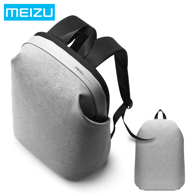2017 New Meizu Brand From 15 6 inch Laptop Backpack Men s Large Capacitance Canvas Backpack