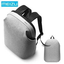 Новинка 2017 года Meizu бренд от 15.6 дюймов ноутбук рюкзак Для мужчин большой емкости рюкзак мода серый/черный классический рюкзак