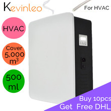 Home Fragrance Aroma Machine HVAC 5,000m3 Coveragea Area 500/100mll Cartridge For Office Hotel Home Air Purifier Air Ionizer цена и фото