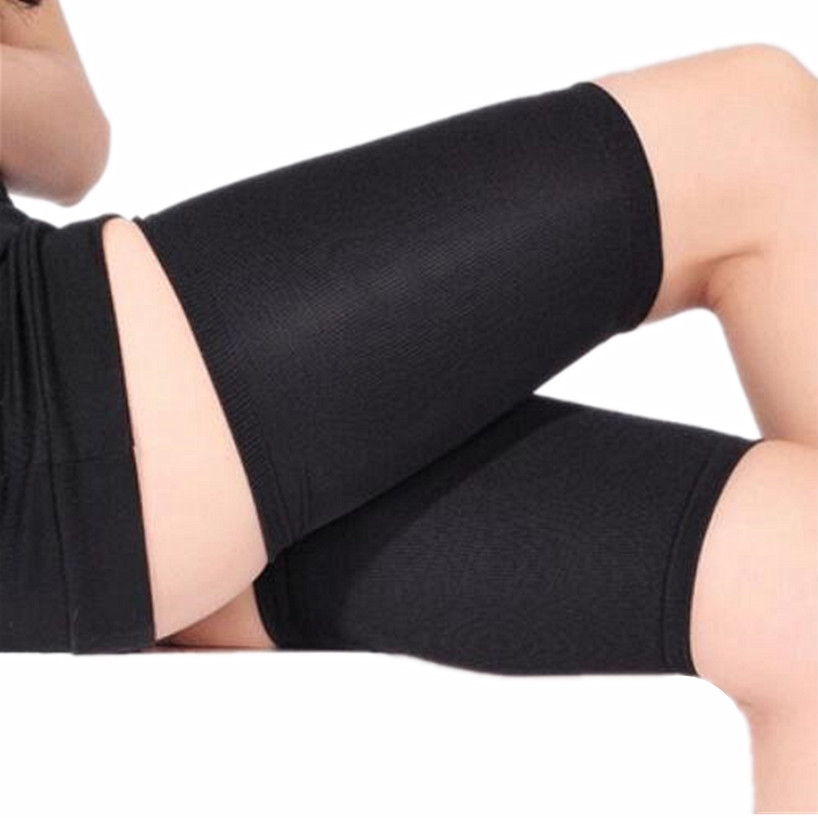 New Compression Medias Sports Thermal Thigh Sleeves Slimming Stockings Calf Shapers Sleeves Fitness Running Cycling Knee Support