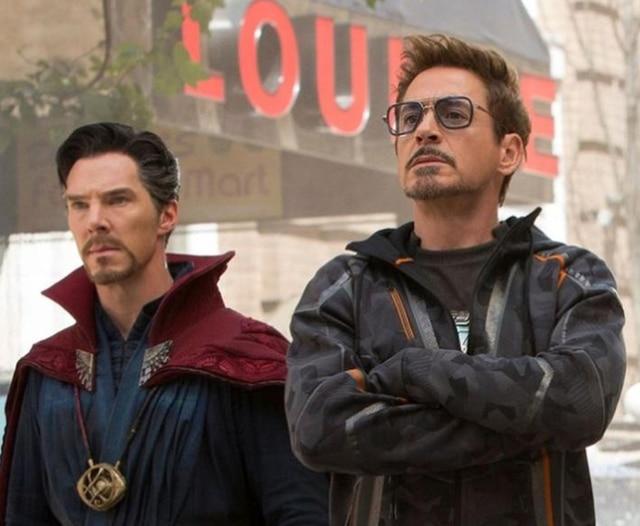 Lunettes De soleil carrées hommes   2019 DPZ mode Avengers Flight Style Tony Stark, lunettes De soleil
