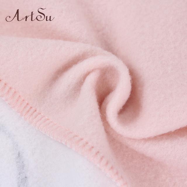 ArtSu 2018 Autumn and winter women fleeve hoodies printed letters Different women's casual sweatshirt hoody sudaderas EPHO80027