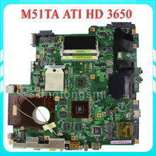 for ASUS M51TA motherboard M51T REV2.0 8 video card Memory 08G2005MT20J Mainboard Radeon HD 3650 Socket S1 100% test