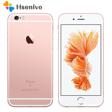 "Free shipping Original Unlocked Apple iPhone 6S 2GB RAM 16/64/128GB ROM Dual Core 4.7"" 12.0MP Camera A9 4G LTE cell phone"