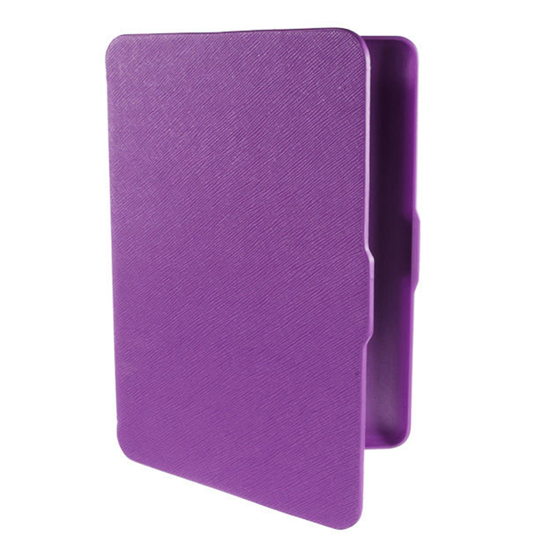 2 Packs Magnetic PU Leather Cover Case slim for Amazon Kindle Paperwhite (Cross pattern, Purple)2 Packs Magnetic PU Leather Cover Case slim for Amazon Kindle Paperwhite (Cross pattern, Purple)