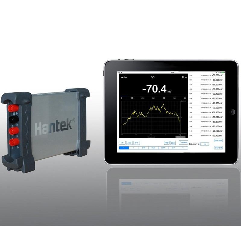 Hantek 365C USB Bluetooth Data Logger Recorder Digital Multimeter TM Li-battery FOR Voltage,current, resistance, capacitance  цены