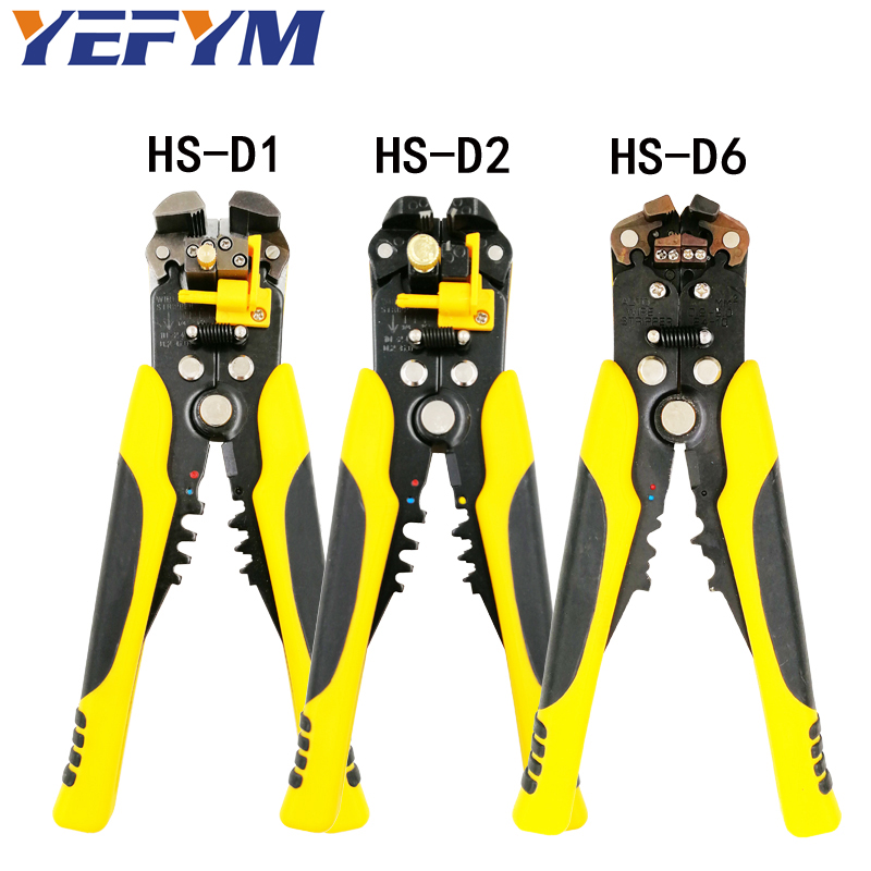 3 in 1 Stripping Pliers multi tool automatic adjustable crimping tool cable wire stripper cutter peeling pliers repair tools