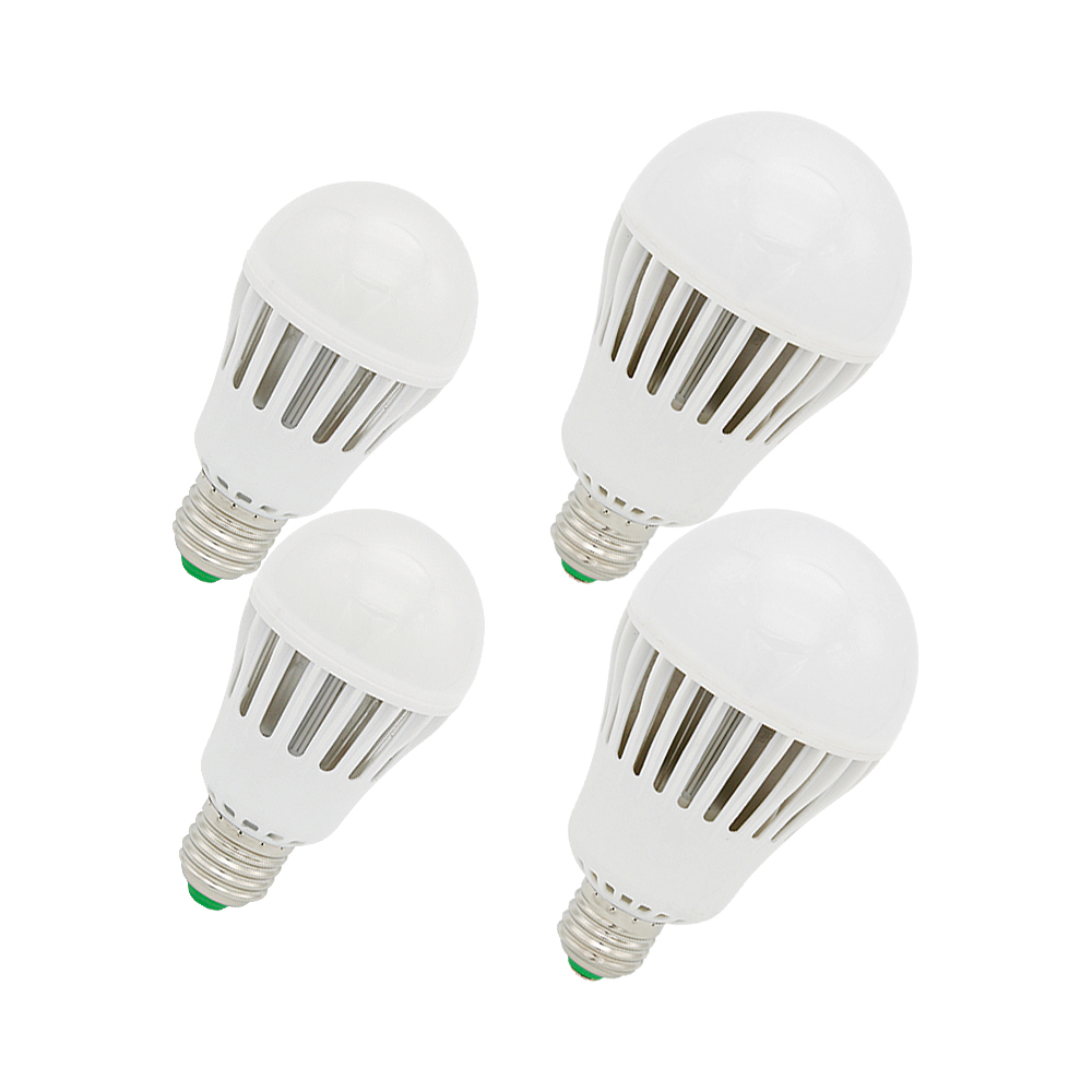 In Audacious A60 A80 9w 12w 15w 18w Real Wattage Smart Ic Light Aluminium Lamp Dimmable Led Bulb Ac85-265v High Brightness Lampada Bombillas Exquisite Workmanship