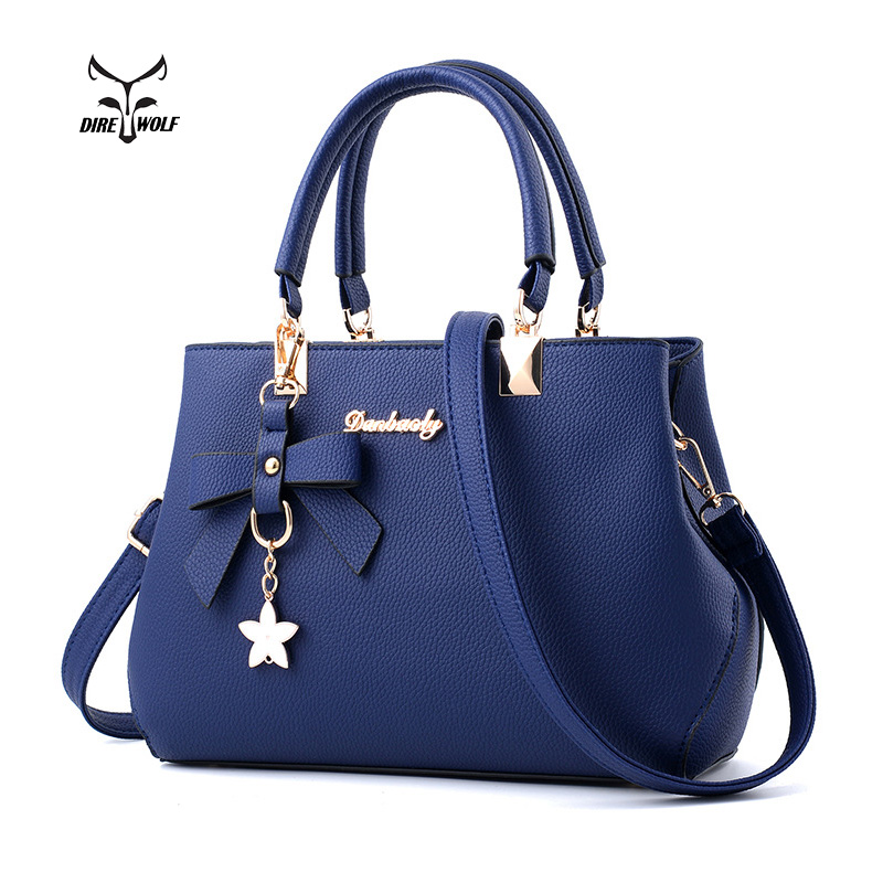 PU Leather Ladies Hand Bags Women Shoulder Bag Pillow Hign Quality Designer Luxury Brand Commuter Office Ring Tote Bag Gifts donghong real cow leather ladies hand bags women genuine leather handbag shoulder bag hign quality designer luxury brand bag