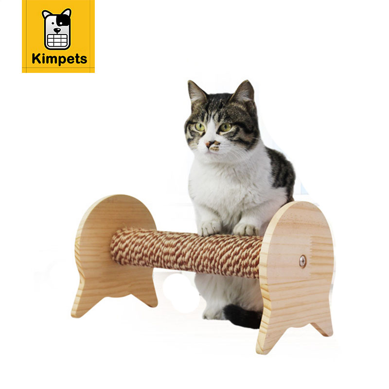 2017 New Cute Cat Toy House Cat Removable DIY Installation Tree  Furnitureu0026Scratchers Toy For Pet Kitten