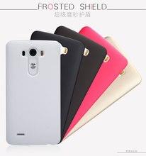 Pour LG G3 Mat Cas Super Bouclier Gommage Shell Téléphone Manchon de protection Dur PC Givré Retour Cas Pour LG G3 battre