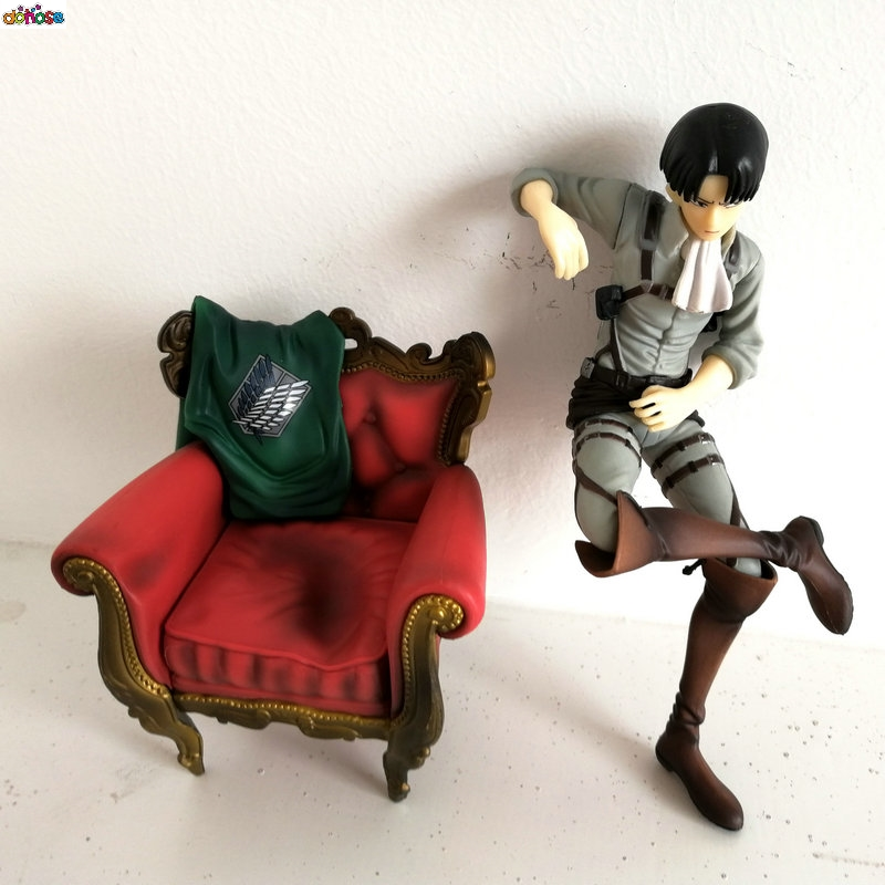 Action & Toy Figures New Hot 15cm Attack On Titan Levi Rivaille Rival Ackerman Sofa Action Figure Toys Collection Doll Christmas Gift No Box Ese0 Strong Packing