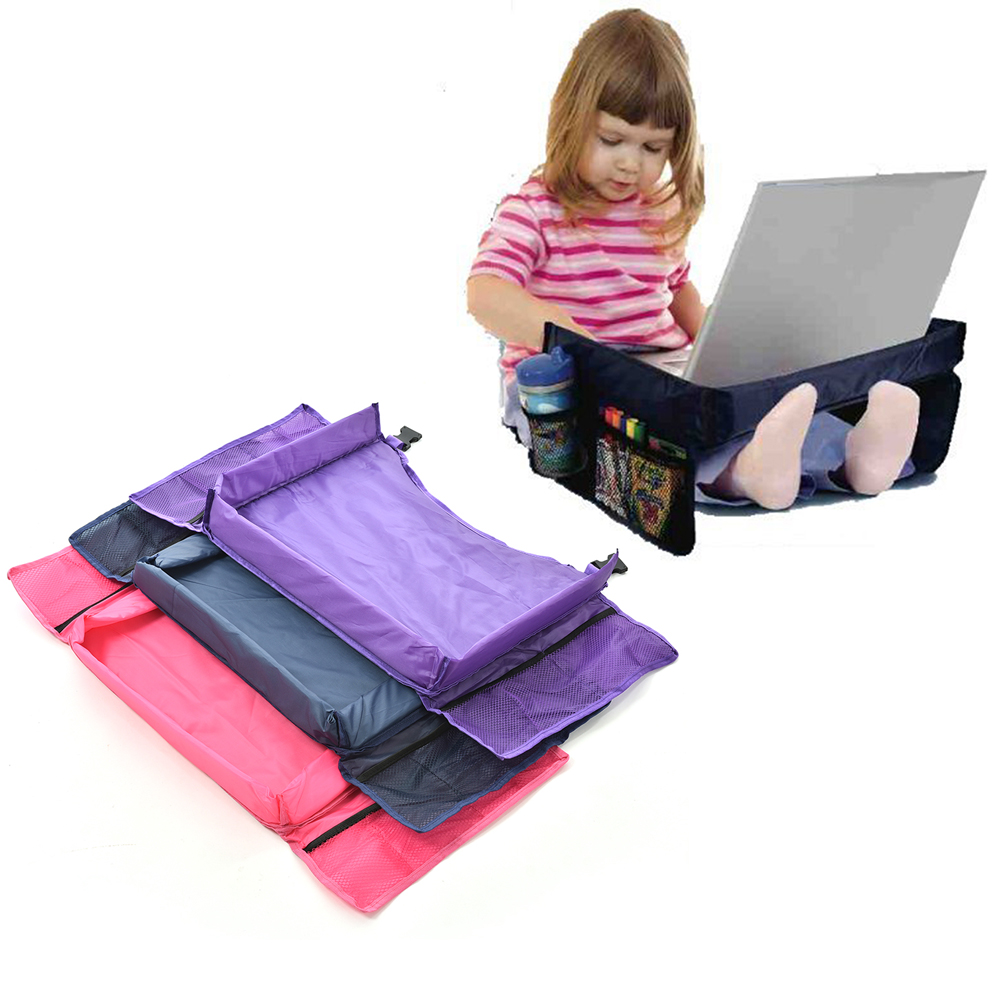 3 colors waterproof table car seat tray storage kids toys infant stroller holder for children