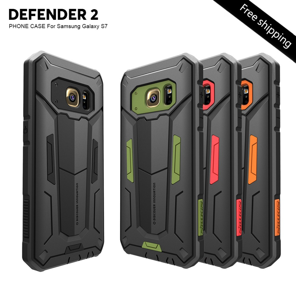 Nillkin Defender 2 touch Slim Cover Cases For samsung galaxy s7 5 1 s7edge 5 5