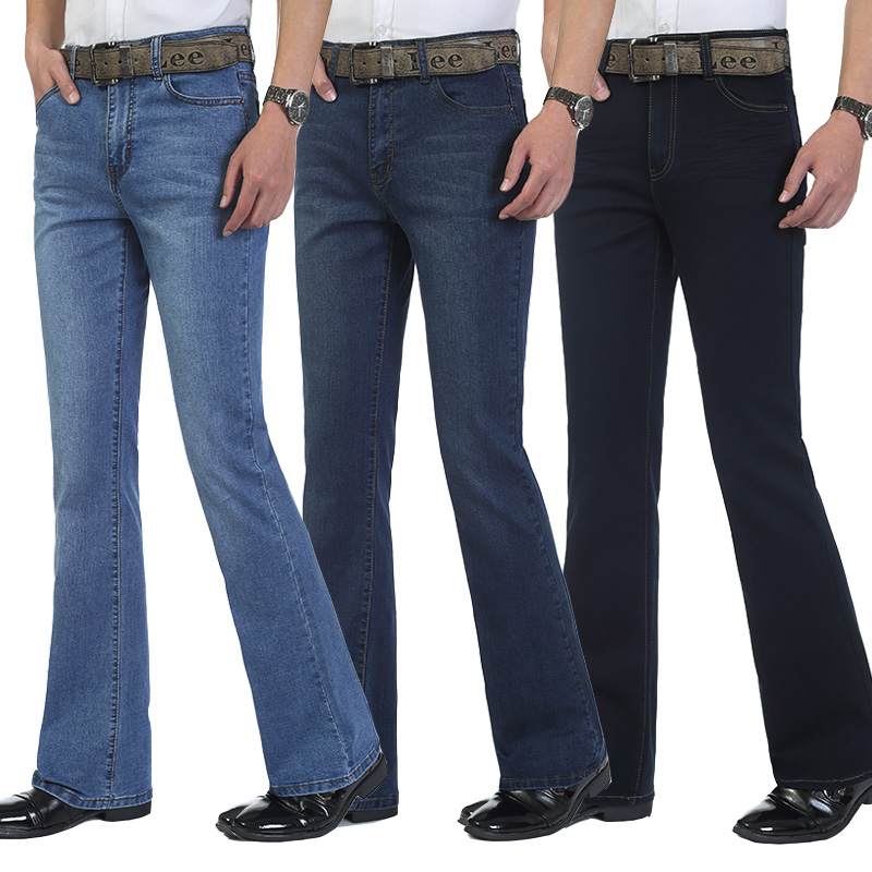 Popular Elastic Waist Boot Cut Jeans-Buy Cheap Elastic Waist Boot ...
