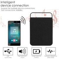 Tessuto Art Altoparlante Portatile Bluetooth 4.1 Versione 10 W Mini Wireless Subwoofer di Sostegno Acustica U Carta del Disc SD
