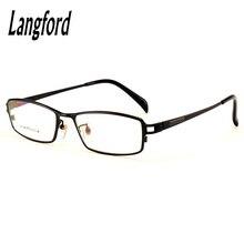 4cec7693f3 langford pure titanium business optical men prescription full frame China  eyeglasses