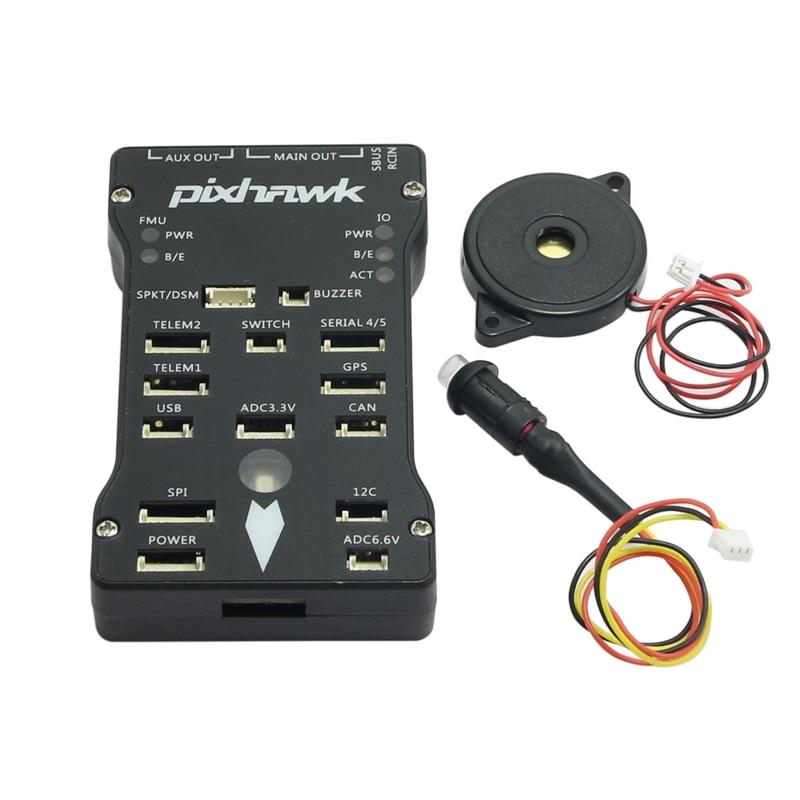 Pixhawk PX4 Autopilot PIX 2.45 32bit ARM Flight Controller PWM to PPM for FPV RC Multicopter pixhawk 2 4 6 px4 arm flight controller 6m 6h m8n gps led