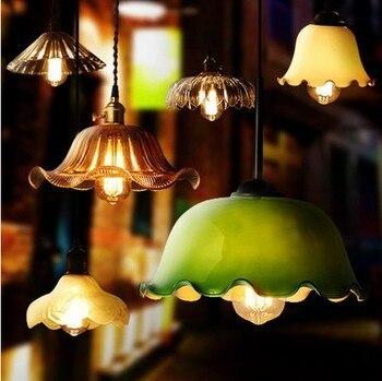 Лофт стиль Эдисон стекло Droplight промышленные винтажные светодиодные подвесные светильники для столовой подвесной светильник Люстры де Сала