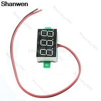 LED DC2.7-30V Green Volt Voltage Meter Display Digital Voltmeter Self-Powered
